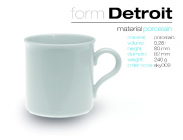 Becher DETROIT 280ml.