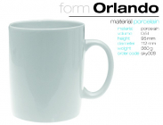 Becher ORLANDO 500ml.