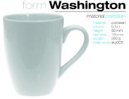 Becher WASHINGTON 370ml.