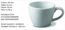 Porcelánové šapo CARLO 115