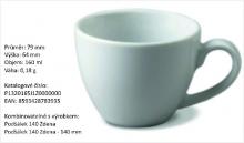 Porcelánové šapo CARLO 140